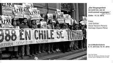 """Ausstellung """"Vier Jahrzehnte danach: Fotodokumente aus dem Chile unter Pinochet"""""""