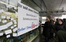 Aktion für den Erhalt des Kundencenters