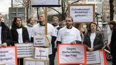 Protest für die Netzeitung
