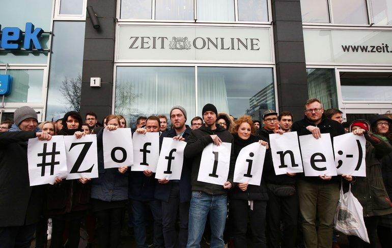 Protest Zeit-Online