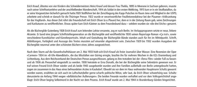 Biografie Erich Knauf